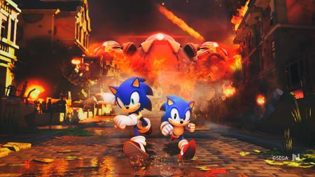 An tuong voi gameplay dau trum cua Sonic Forces - Anh 1