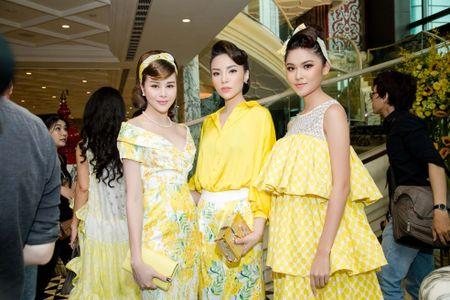 Hoa hau Sella Truong dien dam co dien, do dang ben Ky Duyen, My Linh - Anh 6