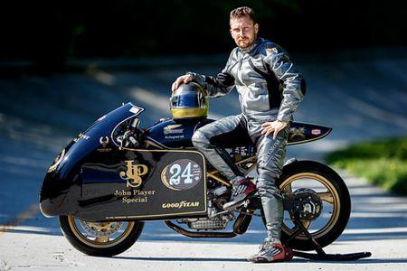 'Chet me' Ducati Monster ban do Meo san chuot - Anh 10