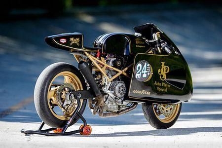 'Chet me' Ducati Monster ban do Meo san chuot - Anh 4
