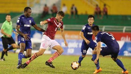 Truc tiep B.Binh Duong vs Sai Gon FC luot ve Tu ket Cup quoc gia 2017 - Anh 1