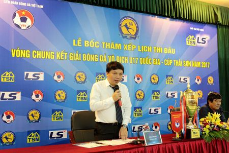 3 lo dao tao tre hang dau Viet Nam cham tran tai bang A giai U17 Quoc gia - Anh 1