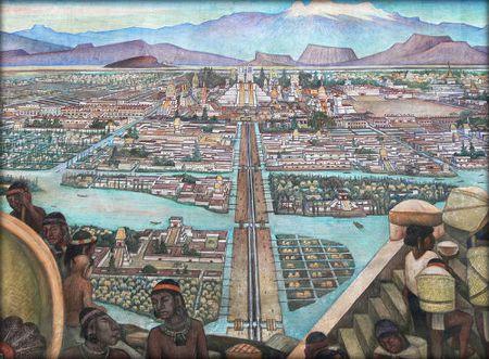 Nhung dieu thu vi ve thu do cua de che Aztec - Anh 1