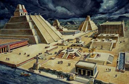 Nhung dieu thu vi ve thu do cua de che Aztec - Anh 3