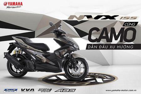 'Soi' Yamaha NVX 155 Camo moi gia 52,7 trieu tai VN - Anh 1