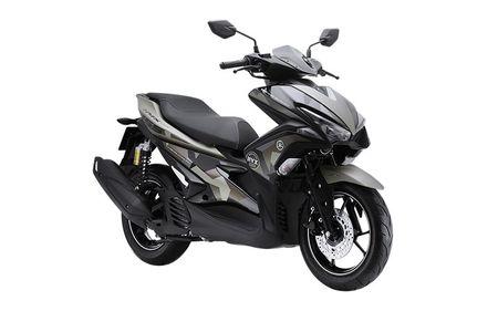 'Soi' Yamaha NVX 155 Camo moi gia 52,7 trieu tai VN - Anh 2