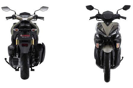 'Soi' Yamaha NVX 155 Camo moi gia 52,7 trieu tai VN - Anh 5