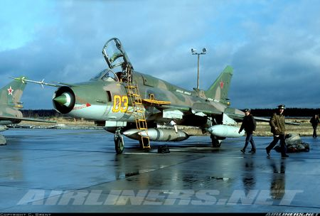 My ban roi may bay Syria: Su-22 chua tung danh thang tren khong - Anh 2