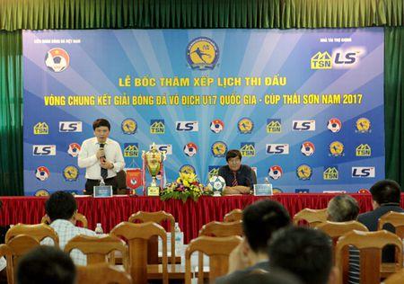 Vong chung ket U17 Quoc gia 2017: HAGL chung bang PVF, Ha Noi FC - Anh 1