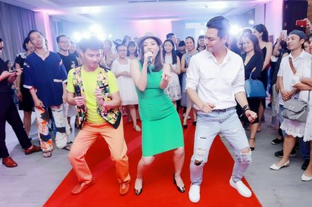 Thu Minh nhay sung het co cung Xuan Bac, Phan Anh - Anh 3