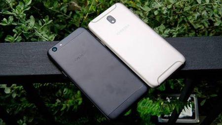 Oppo F3 vs Galaxy J7 Pro: ban chon san pham nao trong phan khuc 7 trieu? - Anh 1