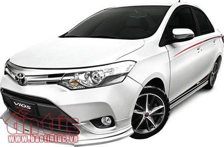 Toyota Viet Nam ra mat Vios TRD 2017 co gia 644 trieu dong - Anh 1