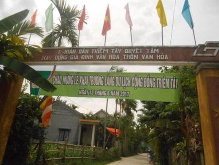 Triem Tay - Lang thuan Viet doc dao cua Quang Nam - Anh 1