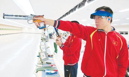 SEA Games 29: Hoang Xuan Vinh chua muon dung lai sau dinh vinh quang - Anh 1