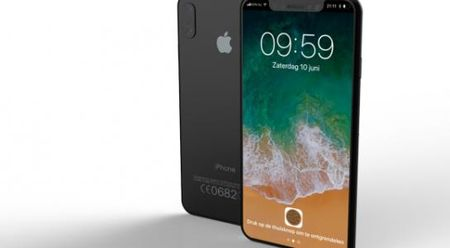 Ro ri vi tri cam bien van tay cua iPhone 8 - Anh 1