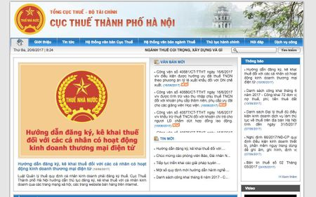 Sau TP. HCM, nguoi kinh doanh tren Facebook tai Ha Noi cung phai nop thue - Anh 2