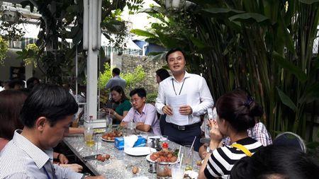 """""""Ca phe sang"""": Lanh dao So GTVT TPHCM mong luon dong hanh cung bao chi - Anh 1"""