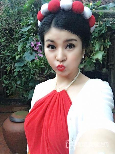 Bat ngo voi nhan sac khong qua photoshop cua dien vien Kim Oanh - Anh 2