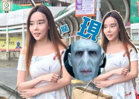 Dien vien Hong Kong sua mat nhu Voldemort - Anh 1
