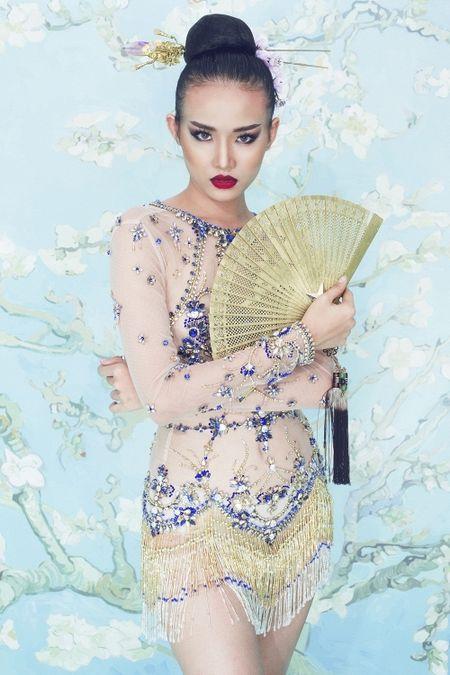 Bao Thai khen ngoi nhan sac thi sinh The Face Viet, so sanh Lan Khue voi 'chi Dai' Lukkade - Anh 14