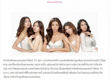 Bao Thai khen ngoi nhan sac thi sinh The Face Viet, so sanh Lan Khue voi 'chi Dai' Lukkade - Anh 2