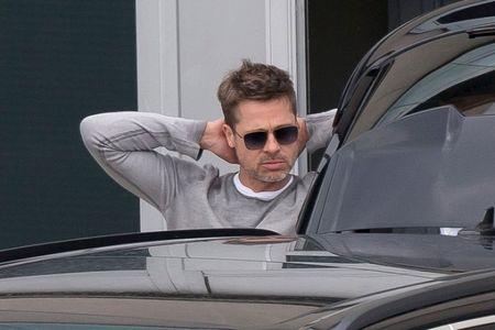 Brad Pitt khong he co don vi da som to chuc 'Ngay cua Cha' cung bon tre - Anh 1