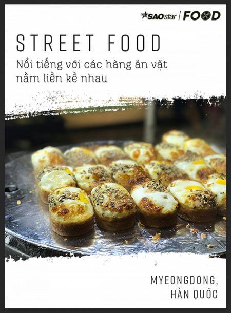 Lac loi trong thien duong street food Myeongdong o xu so kim chi - Anh 2