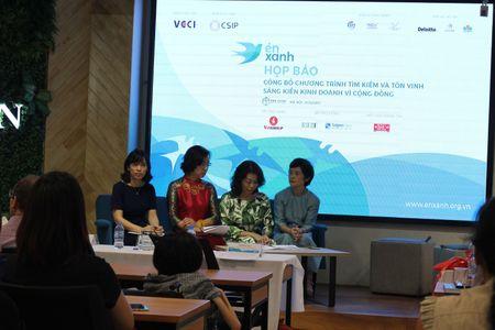 Chuong trinh En Xanh: Tim kiem va ton vinh sang kien kinh doanh vi cong dong - Anh 1