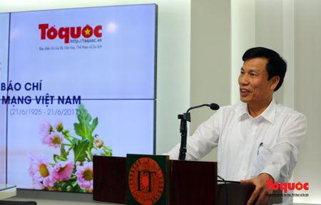 Bo truong Nguyen Ngoc Thien danh gia cao nhung thanh tuu ma Bao dien tu To Quoc da dat duoc - Anh 2