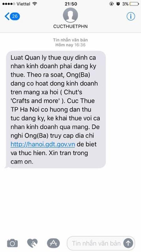 Den luot Ha Noi thu thue ban hang qua Facebook - Anh 1