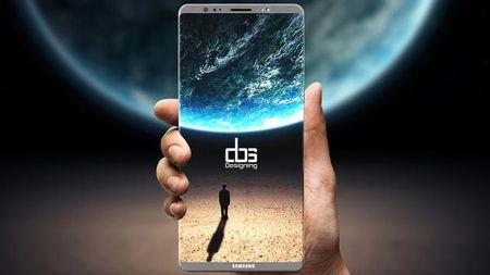 He lo li do Samsung khong tich hop cam bien van tay vao man hinh Note 8 - Anh 1