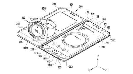 Samsung co sang che moi, sac smartwatch bang chinh smartphone - Anh 5