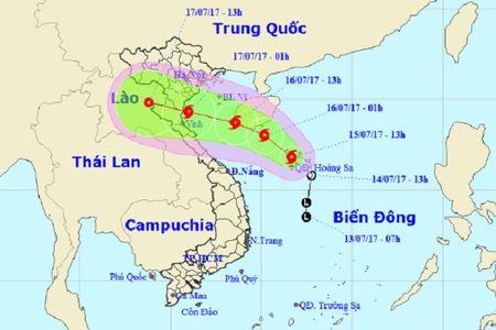 Bao so 2 giat cap 10, huong vao bo bien cac tinh Nam Dinh – Nghe An - Anh 1