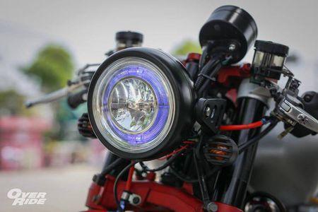 Moto Yamaha XJR1300 'lot xac' cafe racer sieu chat - Anh 3
