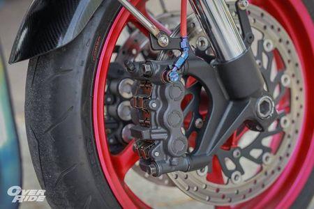 Moto Yamaha XJR1300 'lot xac' cafe racer sieu chat - Anh 4