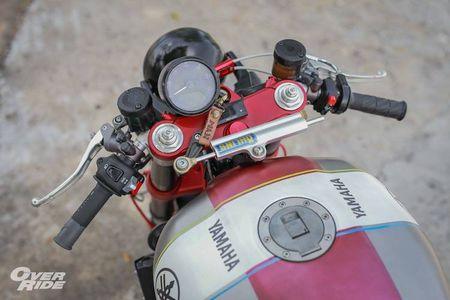Moto Yamaha XJR1300 'lot xac' cafe racer sieu chat - Anh 5