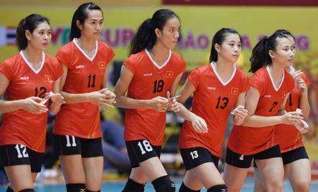 DT tre Viet Nam - DH Bac Kinh: 3 set chong vanh (bong chuyen VTV cup) - Anh 1