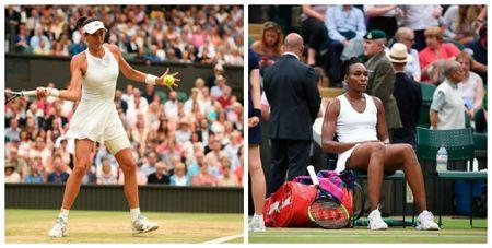 Venus - Muguruza: Set 2 than toc, len dinh danh vong (Chung ket Wimbledon) - Anh 1