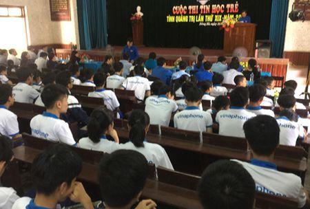 Cuoc thi Tin hoc tre tinh Quang Tri lan thu 19 - Anh 1