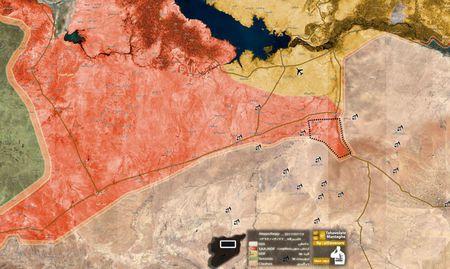 'Ho Syria' dap tan IS, chiem hang loat dia ban chien luoc o Raqqa - Anh 1