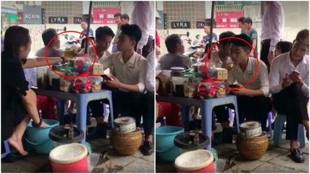Vu dung nuoc rua chan pha tra da cho khach: Chu salon toc den 15 trieu, nhan co ban tra lam me nuoi - Anh 1