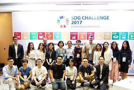 Khoi nghiep cung SDG Challenge 2017 - Anh 1