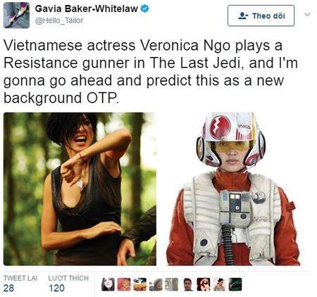 Ngo Thanh Van thu vai phi cong Paige trong bom tan 'Star Wars' - Anh 1
