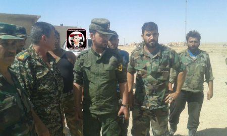 Khong quan Nga don duong, 'Ho Syria' tien danh IS nam Raqqa - Anh 1
