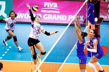 Bong chuyen nu Thai Lan danh bai doi 2 lan vo dich Olympic - Anh 1