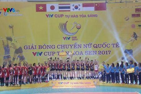 Tuyen Viet Nam xep hang ba, Sinh vien Nhat Ban vo dich VTV Cup - Anh 1