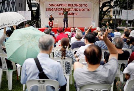 Dan Singapore doi dieu tra Thu tuong vi be boi gia dinh - Anh 1