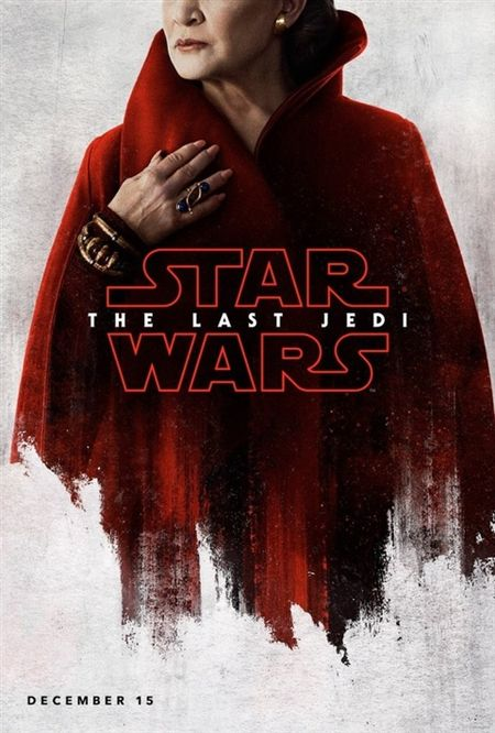 Poster bi an ve cac nhan vat trong 'Star Wars: The Last Jedi' - Anh 1