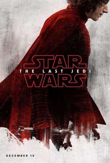 Poster bi an ve cac nhan vat trong 'Star Wars: The Last Jedi' - Anh 3