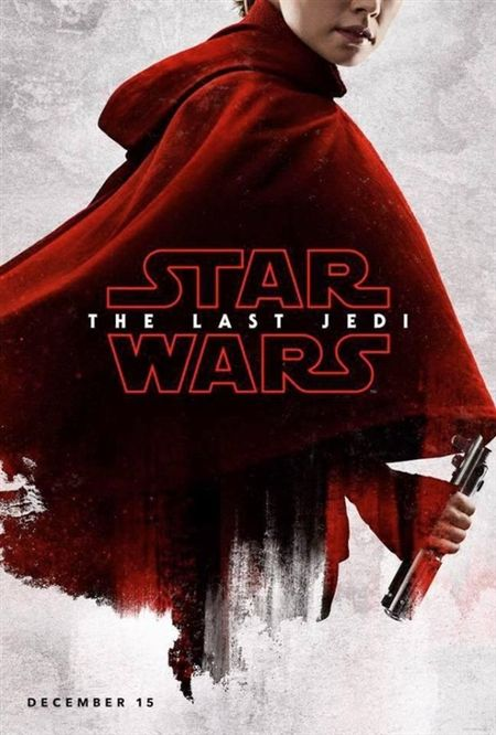 Poster bi an ve cac nhan vat trong 'Star Wars: The Last Jedi' - Anh 6